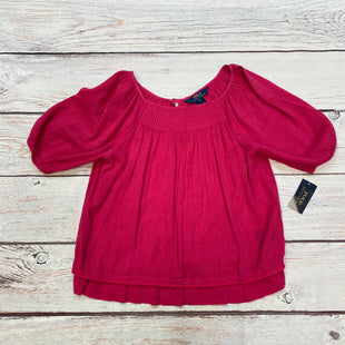 Primary Photo - BRAND: POLO RALPH LAUREN STYLE: TOP SHORT SLEEVE COLOR: HOT PINK SIZE: M OTHER INFO: NEW! TWO PIECE-CAMI INCLUDED SKU: 178-178187-806