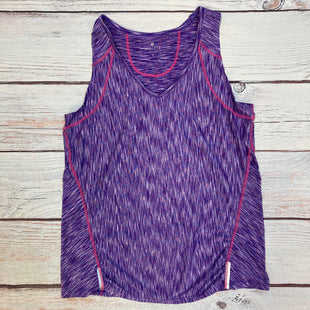 Primary Photo - BRAND: ATHLETA STYLE: ATHLETIC TANK TOP COLOR: MULTI SIZE: L OTHER INFO: PURPLE/WHITE/PINK SKU: 178-178102-62562