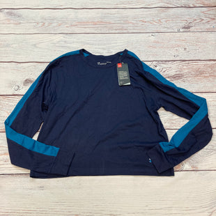 Primary Photo - BRAND: UNDER ARMOUR STYLE: ATHLETIC TOP COLOR: NAVY SIZE: L OTHER INFO: NEW! SKU: 178-178182-4850