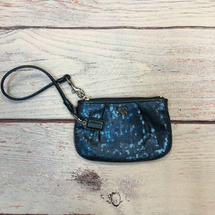 Primary Photo - BRAND: COACH STYLE: WRISTLET COLOR: NAVY OTHER INFO: SEQUINS SKU: 178-178102-58321