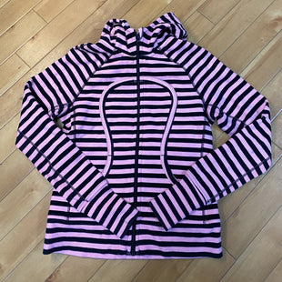 Primary Photo - BRAND: LULULEMON STYLE: ATHLETIC JACKET COLOR: PINKBLACK SIZE: M OTHER INFO: SIZE 8 SKU: 178-17817-26705