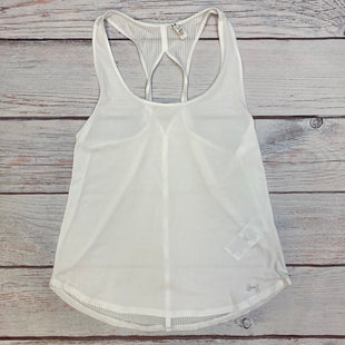 Primary Photo - BRAND: UNDER ARMOUR STYLE: ATHLETIC TANK TOP COLOR: WHITE SIZE: M SKU: 178-178212-4773
