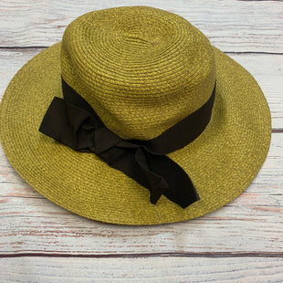 Primary Photo - BRAND: THE HATS COMPANY STYLE: HAT COLOR: STRAW OTHER INFO:  BLACK RIBBON SKU: 178-178212-332