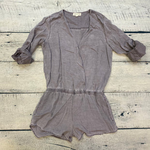 Primary Photo - BRAND: CLOTH AND STONE STYLE: DRESS SHORT LONG SLEEVE COLOR: PURPLE SIZE: XS OTHER INFO: ROMPER SKU: 178-178212-4542