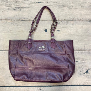 Primary Photo - BRAND: COACH STYLE: HANDBAG DESIGNER COLOR: PURPLE SIZE: MEDIUM SKU: 178-178102-54577
