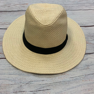 Primary Photo - BRAND: J CREW STYLE: HAT COLOR: TAN OTHER INFO: NEW! BLACK RIBBON SKU: 178-178199-2302