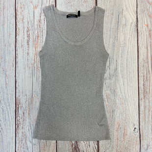 Primary Photo - BRAND: DAISY FUENTES STYLE: TOP SLEEVELESS BASIC COLOR: SILVER SIZE: S OTHER INFO: SHIMMERY PETITE SKU: 178-178212-3349