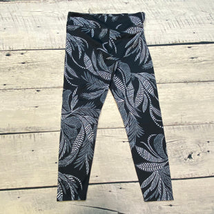 Primary Photo - BRAND: JOY LAB STYLE: ATHLETIC PANTS COLOR: BLACK WHITE SIZE: L OTHER INFO: TROPICAL PRINT SKU: 178-178199-4194