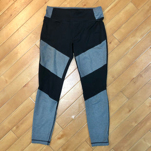 Primary Photo - BRAND: ATHLETIC WORKS STYLE: ATHLETIC PANTS COLOR: BLACK SILVER SIZE: M OTHER INFO: BLACK/ GREY, TIE UP STRINGS SKU: 178-178214-324