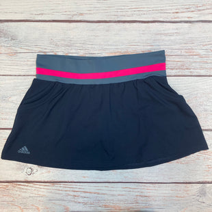 Primary Photo - BRAND: ADIDAS STYLE: ATHLETIC SKIRT SKORT COLOR: NAVY SIZE: M OTHER INFO: PINK WAISTBAND SKU: 178-178212-4769