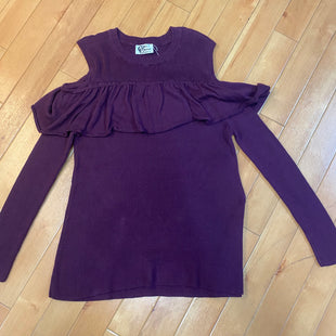 Primary Photo - BRAND:   CMC STYLE: SWEATER LIGHTWEIGHT COLOR: PLUM SIZE: M OTHER INFO: CAROLE CHRISTIAN - COLD SHOULDER-NEW! SKU: 178-178160-355