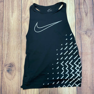 Primary Photo - BRAND: NIKE STYLE: ATHLETIC TANK TOP COLOR: BLACK SIZE: XS OTHER INFO: GREY DETAILING SKU: 178-178212-1439