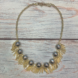 Primary Photo - STYLE: NECKLACE COLOR: GOLD OTHER INFO: GOLD CHAIN, PURPLE BEAD,GOLD METAL TASSLES SKU: 178-17853-1101