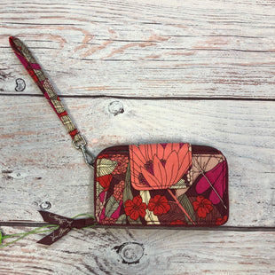 Primary Photo - BRAND: VERA BRADLEY STYLE: WRISTLET COLOR: MAROON OTHER INFO: NWT -  MAROON/PINK/RED/WHITE SKU: 178-17824-10398