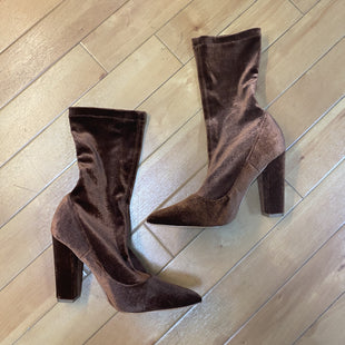 Primary Photo - BRAND: FOREVER 21 STYLE: BOOTS ANKLE COLOR: BRONZE SIZE: 7.5 SKU: 178-178182-2487