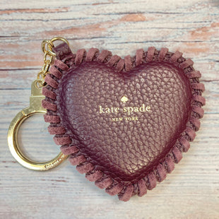 Primary Photo - BRAND: KATE SPADE STYLE: ACCESSORY TAG COLOR: PURPLE OTHER INFO: LEATHER HEART KEYCHAIN SKU: 178-178102-59011