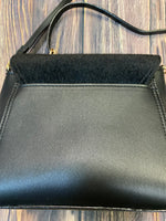 Photo #2 - BRAND: NEIMAN MARCUS <BR>STYLE: HANDBAG <BR>COLOR: BLACK <BR>SIZE: SMALL <BR>OTHER INFO: FAUZ FUR <BR>SKU: 178-178199-3075