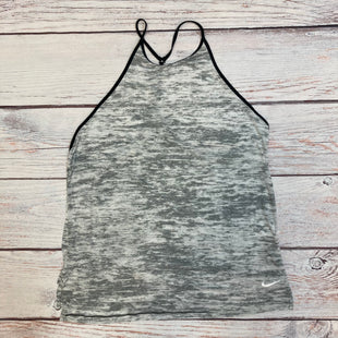Primary Photo - BRAND: NIKE STYLE: ATHLETIC TANK TOP COLOR: GREY SIZE: M OTHER INFO: BLACK TRIM SKU: 178-178212-4781