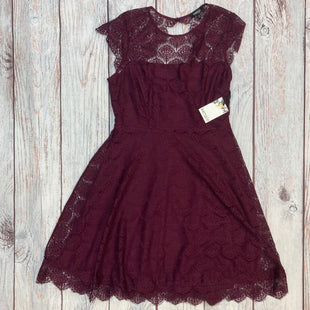Primary Photo - BRAND: KENSIE STYLE: DRESS SHORT SLEEVELESS COLOR: PLUM SIZE: M OTHER INFO: SIZE 10-LACE-NEW! SKU: 178-17853-813