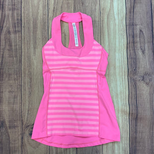 Primary Photo - BRAND: LULULEMON STYLE: ATHLETIC TANK TOP COLOR: PINK SIZE: S OTHER INFO: SIZE 6 SKU: 178-17883-14534