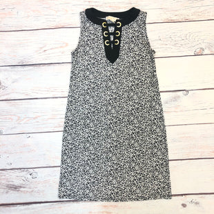 Primary Photo - BRAND: MICHAEL BY MICHAEL KORS STYLE: DRESS SHORT SLEEVELESS COLOR: BLACK WHITE SIZE: XS OTHER INFO: GOLD DETAIL SKU: 178-178212-5512