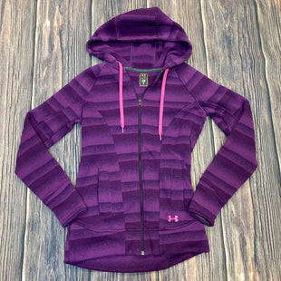 Primary Photo - BRAND: UNDER ARMOUR STYLE: ATHLETIC JACKET COLOR: PURPLE SIZE: S SKU: 178-178192-831
