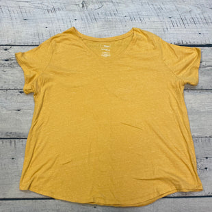 Primary Photo - BRAND: SONOMA STYLE: TOP SHORT SLEEVE BASIC COLOR: MUSTARD SIZE: 2X SKU: 178-17817-26826