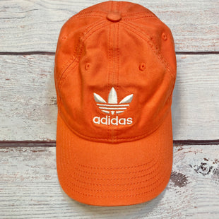 Primary Photo - BRAND: ADIDAS STYLE: HAT COLOR: ORANGE OTHER INFO: BASEBALL CAP SKU: 178-178212-4620