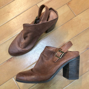 Primary Photo - BRAND: LUCKY BRAND STYLE: SHOES HIGH HEEL COLOR: BROWN SIZE: 9 SKU: 178-178203-105