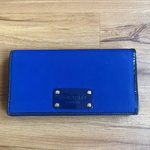 Primary Photo - BRAND: KATE SPADE STYLE: WALLET COLOR: BLUE SIZE: LARGE OTHER INFO: NYLON W/ NAVY PATENT TRIMS SKU: 178-178102-58672