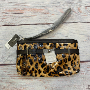 Primary Photo - BRAND: GUESS STYLE: WRISTLET COLOR: ANIMAL PRINT OTHER INFO: NEW SKU: 178-17853-411