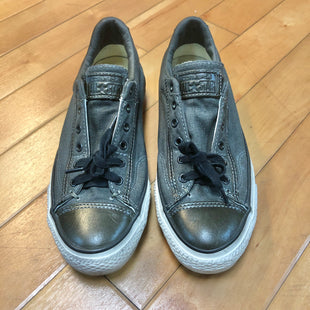 Primary Photo - BRAND: CONVERSE STYLE: SHOES FLATS COLOR: GREY SIZE: 8 OTHER INFO: SLIGHT STAINING SKU: 178-17883-13367