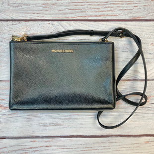 Primary Photo - BRAND: MICHAEL BY MICHAEL KORS STYLE: HANDBAG DESIGNER COLOR: BLACK SIZE: SMALL OTHER INFO: PEBBLE LEATHER XBODY SKU: 178-178102-59047