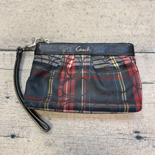 Primary Photo - BRAND: COACH STYLE: WRISTLET COLOR: PLAID OTHER INFO: RED/GREEN/YELLOW/BLUE SKU: 178-178203-4094