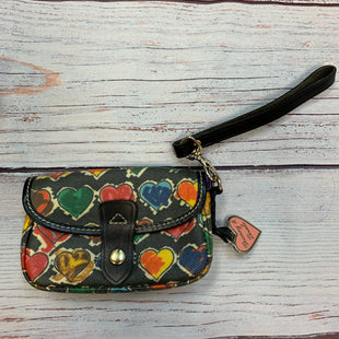 Primary Photo - BRAND: DOONEY AND BOURKE STYLE: WRISTLET COLOR: HEART OTHER INFO: RED/BLUE/GREEN/YELLOW-BLACK TRIM SKU: 178-178212-6101