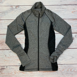 Primary Photo - BRAND: VICTORIAS SECRET STYLE: ATHLETIC JACKET COLOR: GREY SIZE: M OTHER INFO: BLACK TRIMS SKU: 178-178102-64002