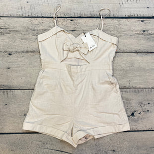 Primary Photo - BRAND: BARDOT STYLE: DRESS SHORT SLEEVELESS COLOR: CREAM SIZE: 8 OTHER INFO: NEW! ROMPER SKU: 178-17853-755