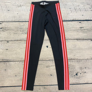 Primary Photo - BRAND: ADIDAS STYLE: ATHLETIC PANTS COLOR: BLACK SIZE: XS OTHER INFO: PINK/RED STRIPES SKU: 178-178203-4107