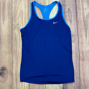 Primary Photo - BRAND: NIKE STYLE: ATHLETIC TANK TOP COLOR: BLUE SIZE: M OTHER INFO: LIGHT BLUE STRIP SKU: 178-178199-1751