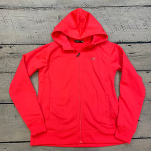 Primary Photo - BRAND: UNDER ARMOUR STYLE: ATHLETIC JACKET COLOR: NEON SIZE: XL OTHER INFO: NEON PINK SKU: 178-178203-1743