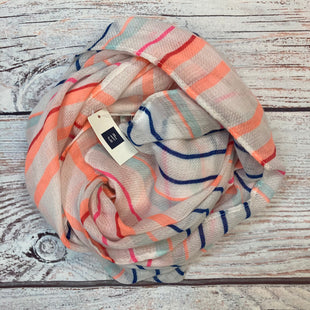 Primary Photo - BRAND: GAP O STYLE: SCARF COLOR: STRIPED OTHER INFO: NEW! WHITE/ORANGE/PINK/BLUE SKU: 178-178102-59577