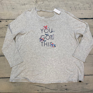 Primary Photo - BRAND: LIVI ACTIVE STYLE: TOP LONG SLEEVE COLOR: GREY SIZE: 4X OTHER INFO: YOU GOT THIS SKU: 178-178102-58364