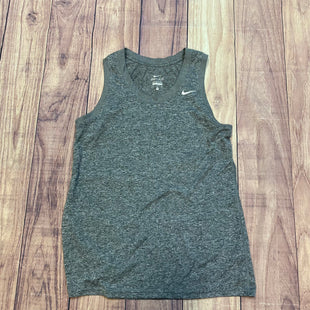 Primary Photo - BRAND: NIKE APPAREL STYLE: ATHLETIC TANK TOP COLOR: GREY SIZE: M SKU: 178-178102-57068