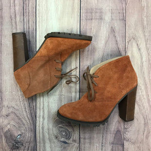 Photo #1 - BRAND: BETTYE MULLERSTYLE: BOOTS ANKLE COLOR: ORANGE SIZE: 7 OTHER INFO: SIZE 37 SKU: 178-178102-56710