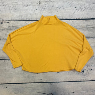Primary Photo - BRAND: MELROSE AND MARKET STYLE: TOP LONG SLEEVE COLOR: YELLOW SIZE: S OTHER INFO: RIBBED SKU: 178-178212-2769
