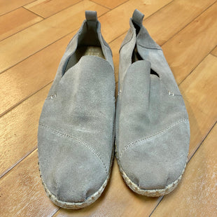 Primary Photo - BRAND: TOMS STYLE: SHOES FLATS COLOR: TAUPE SIZE: 8.5 OTHER INFO: SUEDE SLIP ONS SKU: 178-178102-54541