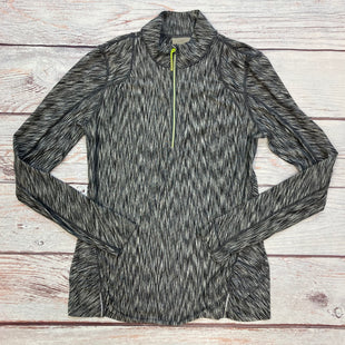 Primary Photo - BRAND: ATHLETA STYLE: ATHLETIC JACKET COLOR: GREY SIZE: S OTHER INFO: GREY/BLACK SKU: 178-178203-4338