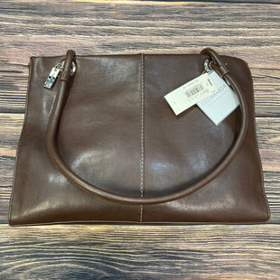 Primary Photo - BRAND: SAG HARBOR STYLE: HANDBAG LEATHER COLOR: CHOCOLATE SIZE: LARGE SKU: 178-178102-54372