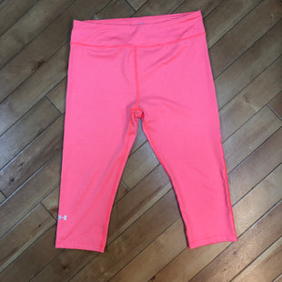 Primary Photo - BRAND: UNDER ARMOUR STYLE: ATHLETIC PANTS COLOR: ORANGE SIZE: L SKU: 178-17853-367
