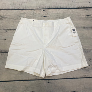Primary Photo - BRAND: GAP STYLE: SHORTS COLOR: WHITE SIZE: 16 OTHER INFO: NEW! SKU: 178-178102-57968